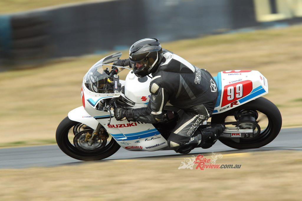 Paul in action at Sydney Motorsport Park. Pic: Tim Munro