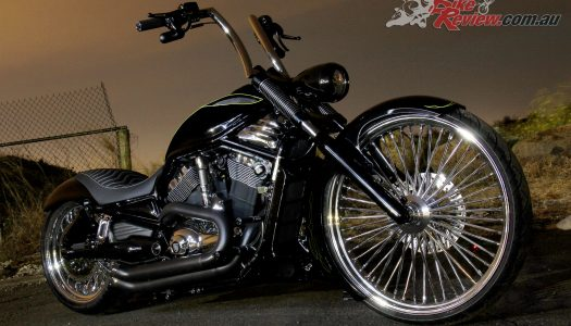 Custom Harley: Pega Custom Cycles V-Rod 'Eruption'