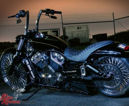 Pega Custom Cycles Eruption V-Rod