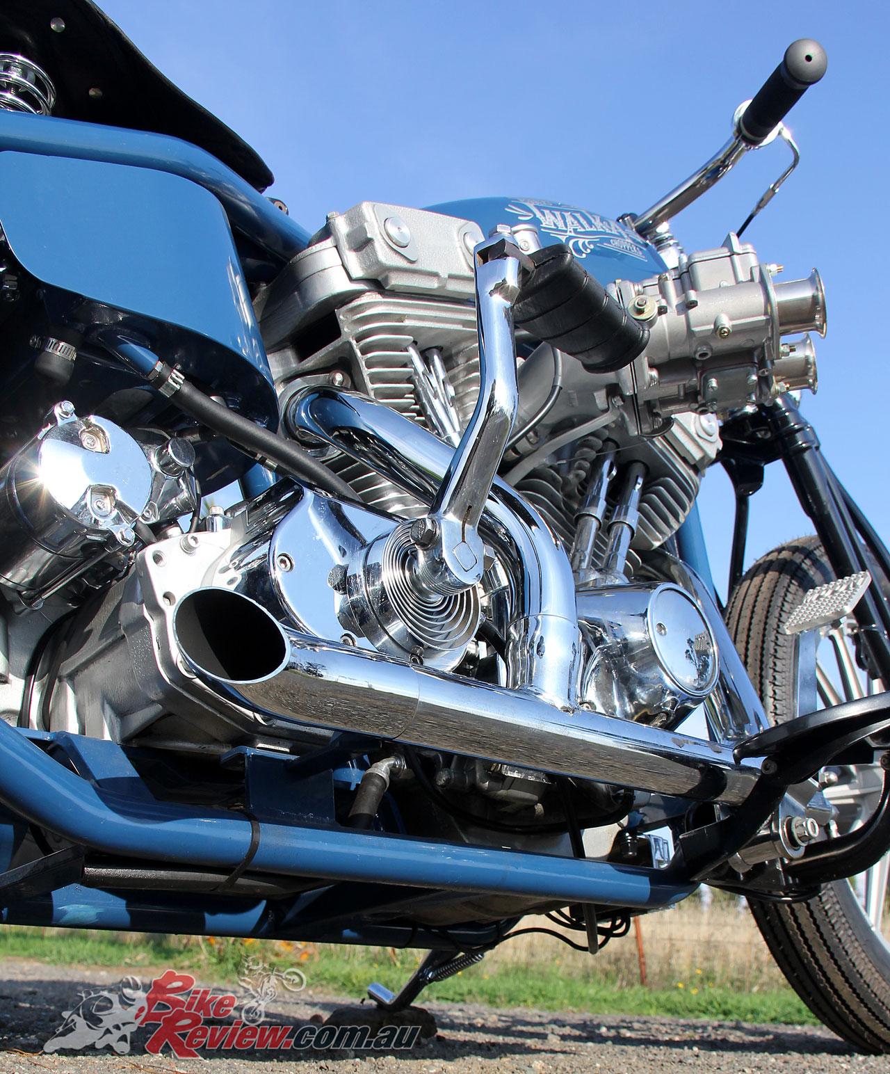 Walka's Kraft Tech Harley Jalopy