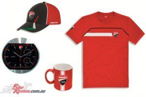 Ducati Corse T-Shirt, Mug, Clock & Cup