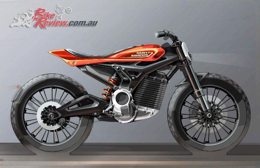 Harley-Davidson Future Electric Model concept