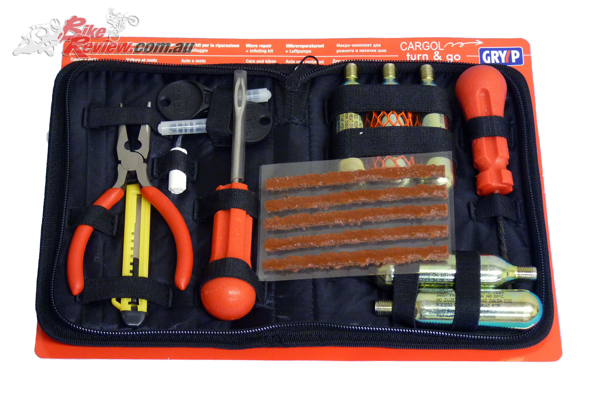 Cargol 'Turn & GO' Tyre Repair Kit from Gryyp