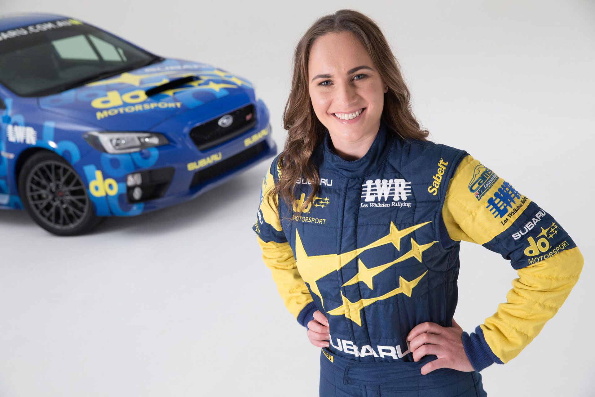 Molly Taylor - Rally Driver for Subaru do Motorsport in the Australian Rally Championship