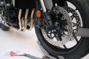 Axle Oggys for Honda's CB1000R