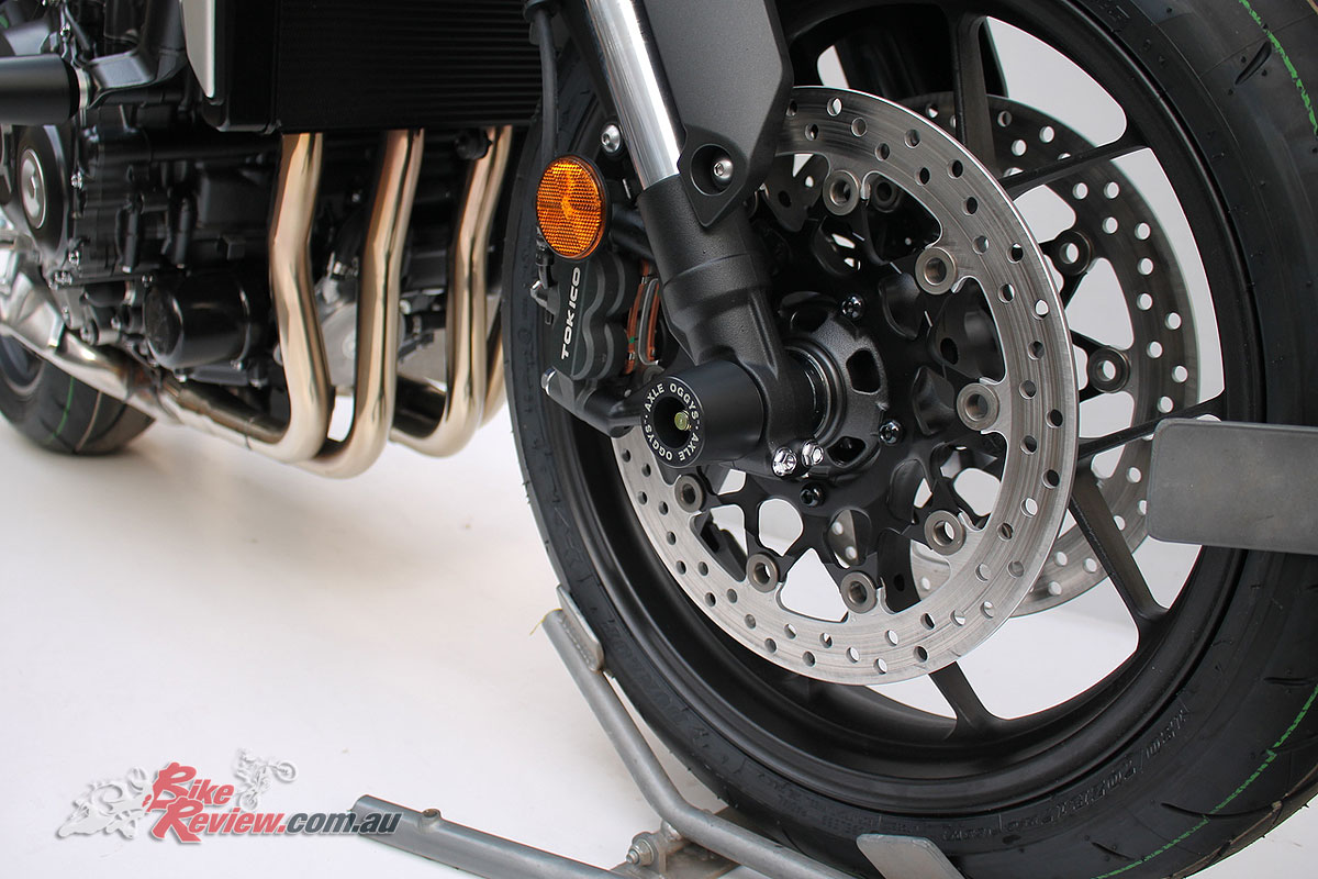 Axle Oggys for Honda's CB1000R