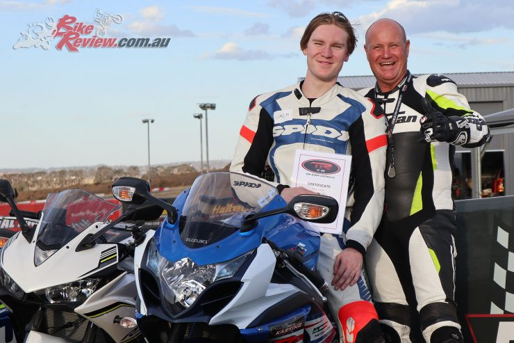 A big thanks go to Bernie and the Top Rider team for the opportunity to take part in the training course