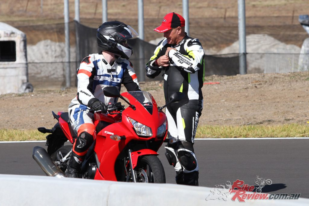 Individual feedback also ensures you'll be receiving valuable input that's specific to your riding