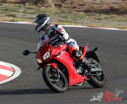 After lunch it was onto cornering exercises at Top Rider