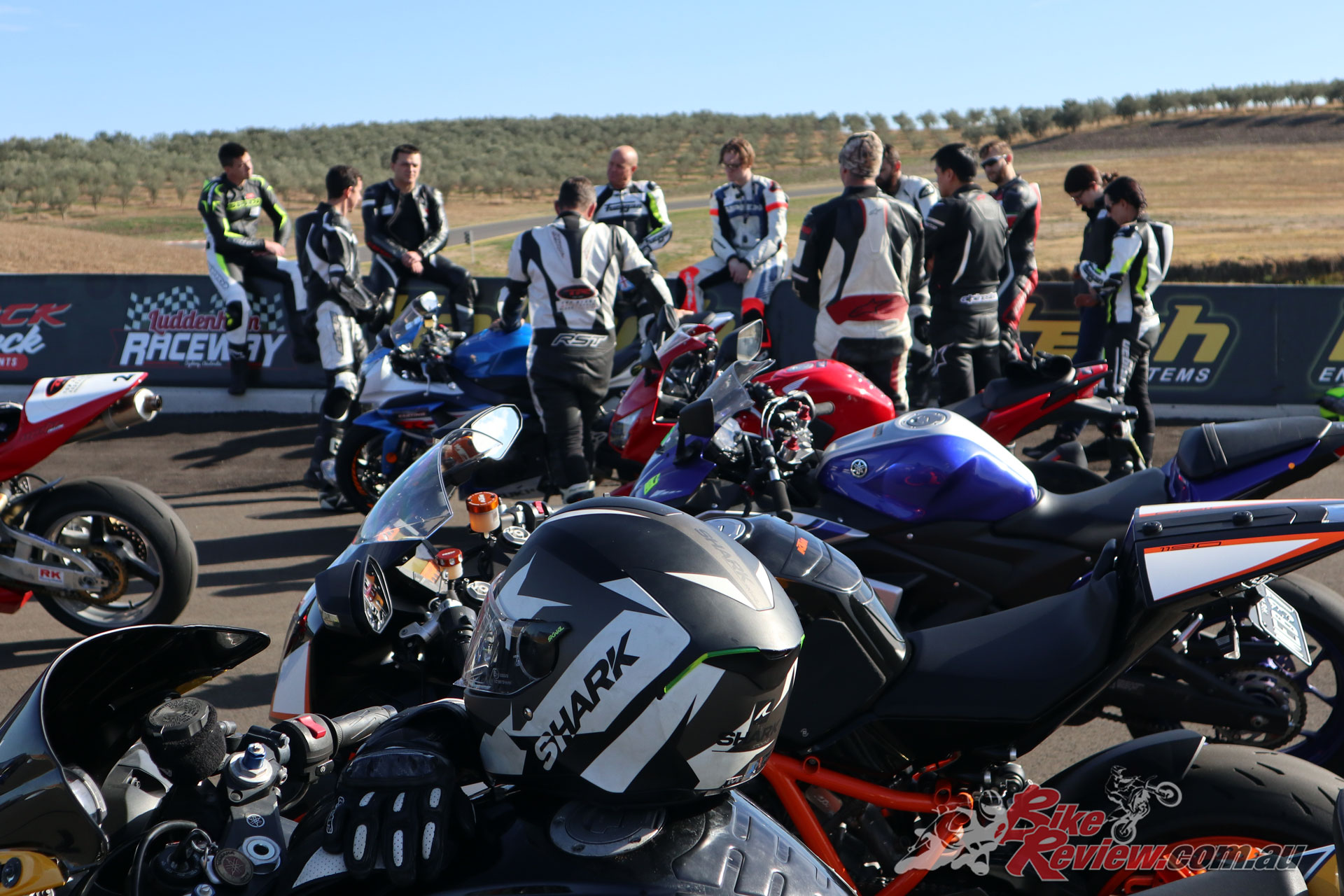 Despite the varying levels of riding experience everyone was given valuable input and advice