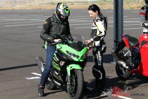 Samantha at Top Rider Level 1 at Luddenham Raceway