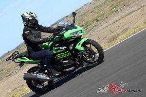 Our Long Term Ninja 400 at Top Rider Level 1