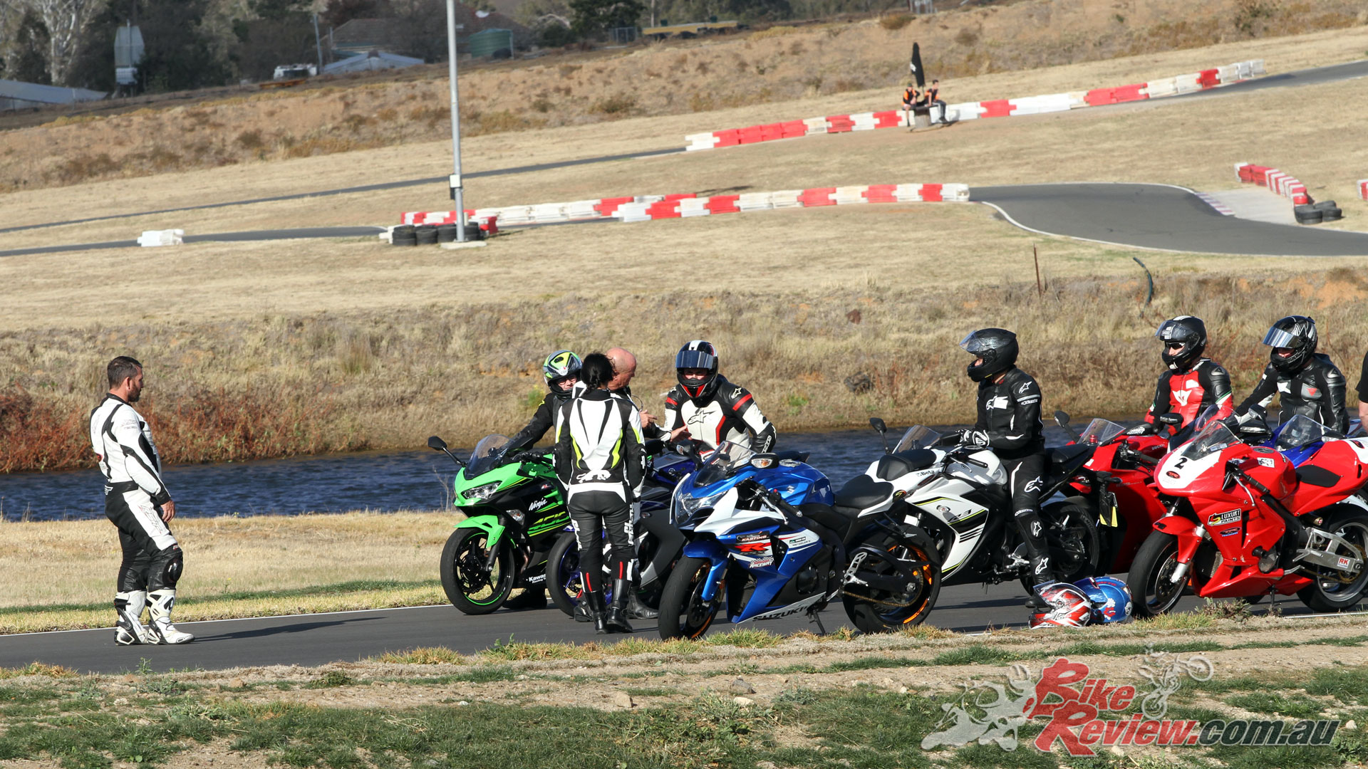 The track also offers a great location for learning without the worries of the road