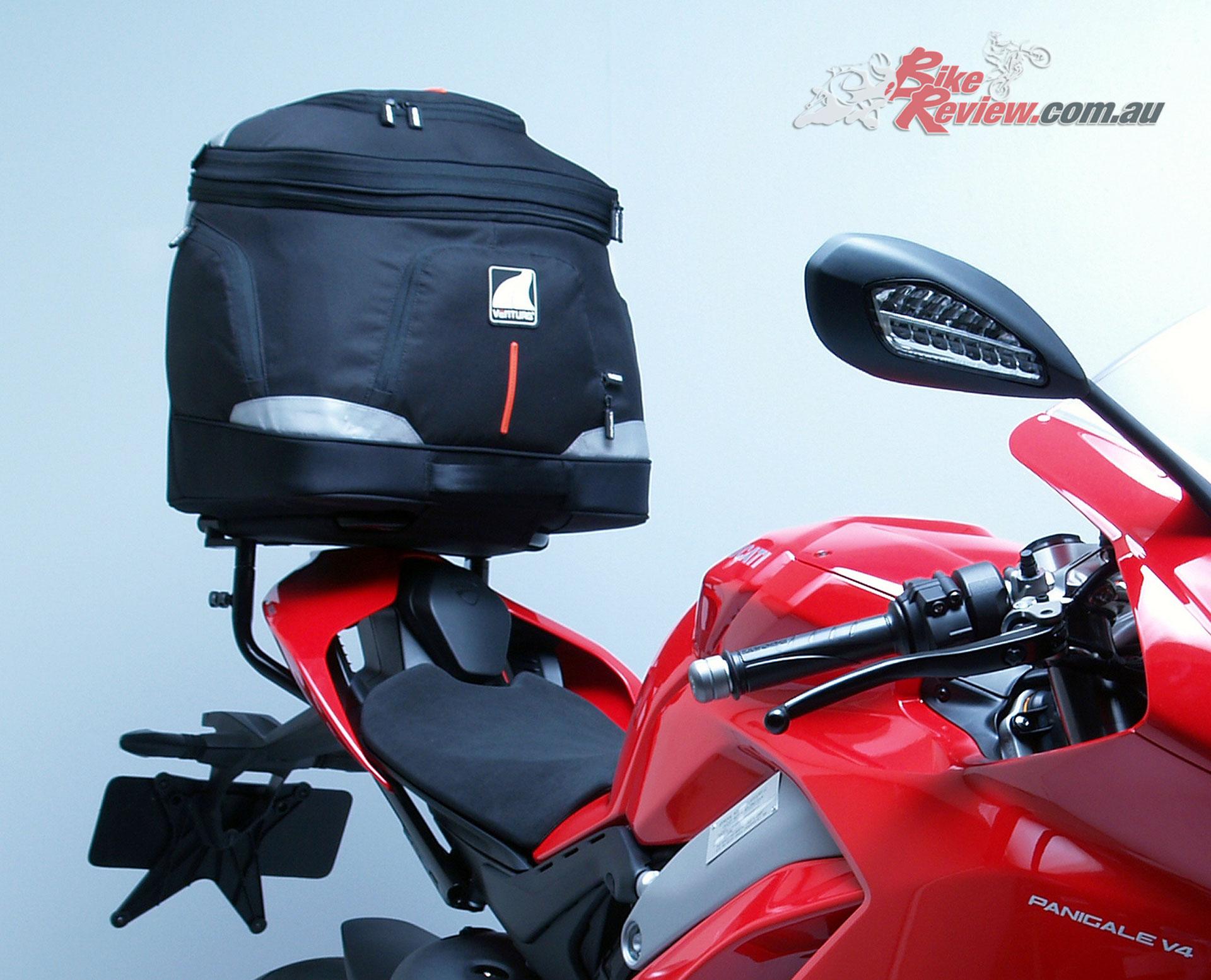 Ventura EVO-40 Luggage for the Ducati Panigale V4