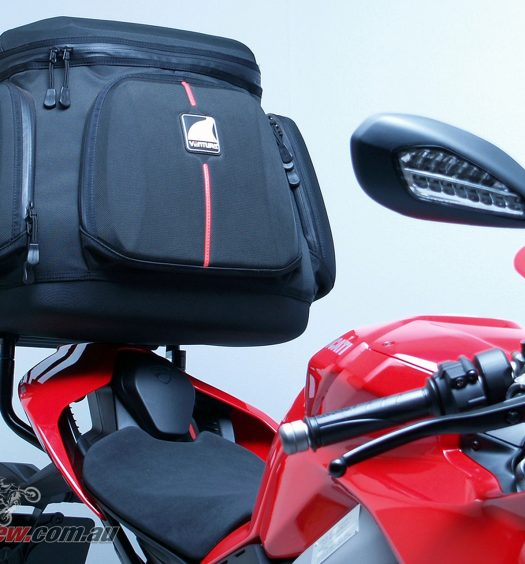 Ventura Mistral Luggage for the Ducati Panigale V4