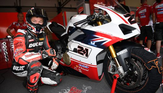 Troy Bayliss Race of Champions V4 S tops auctions