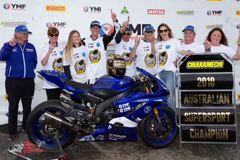 Halliday came out on top in 2018's Australian Supersport Championship.