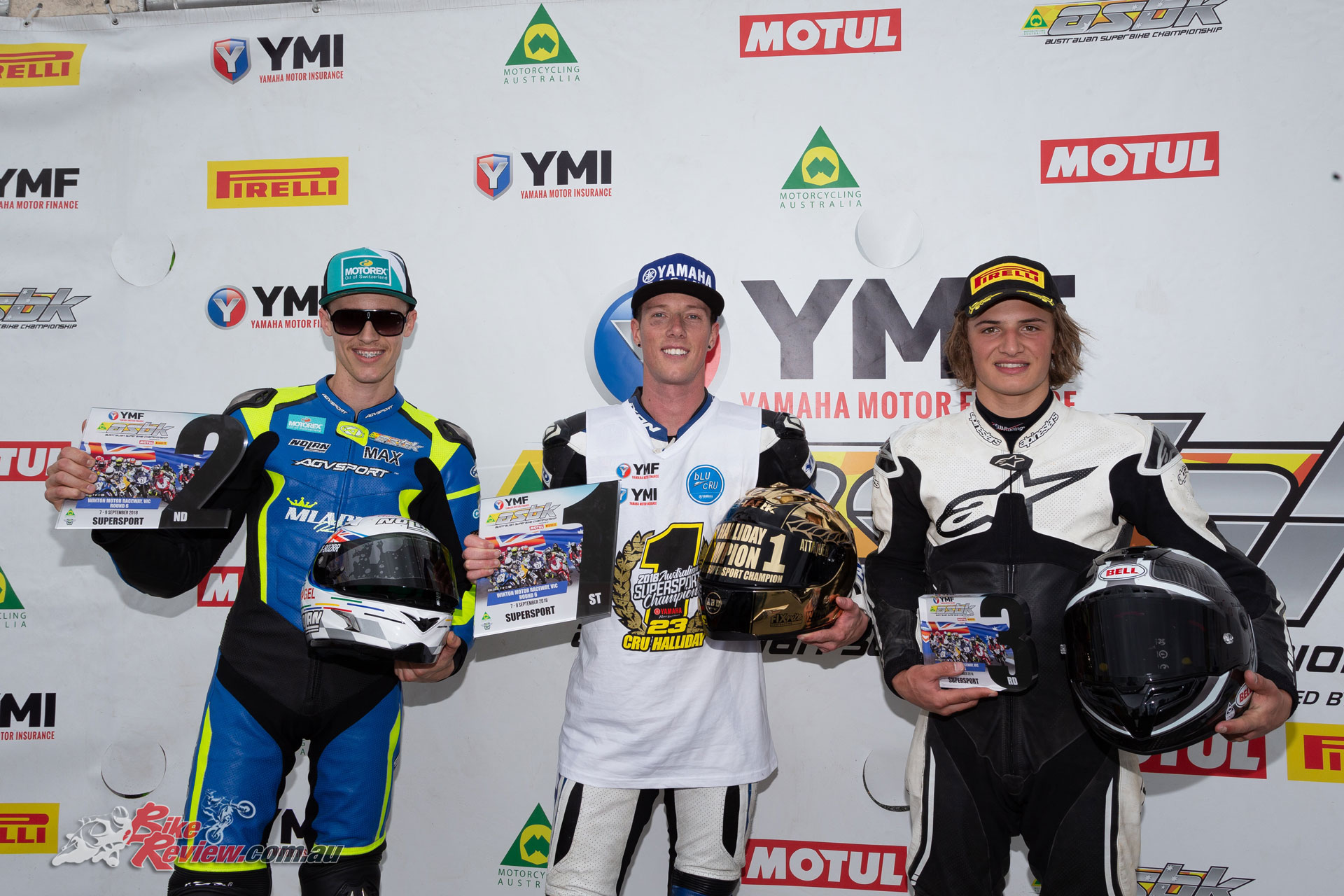 Supersport Overall Podium - Image by TBGSport