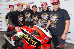 Troy Herfoss claims the 2018 ASBK Superbike title