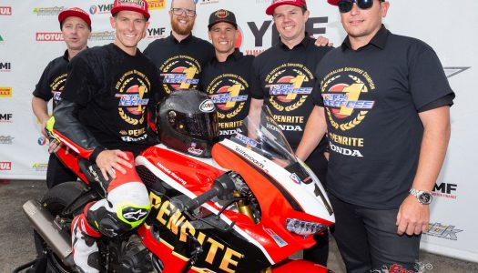 Herfoss & Halliday crowned champions at Winton
