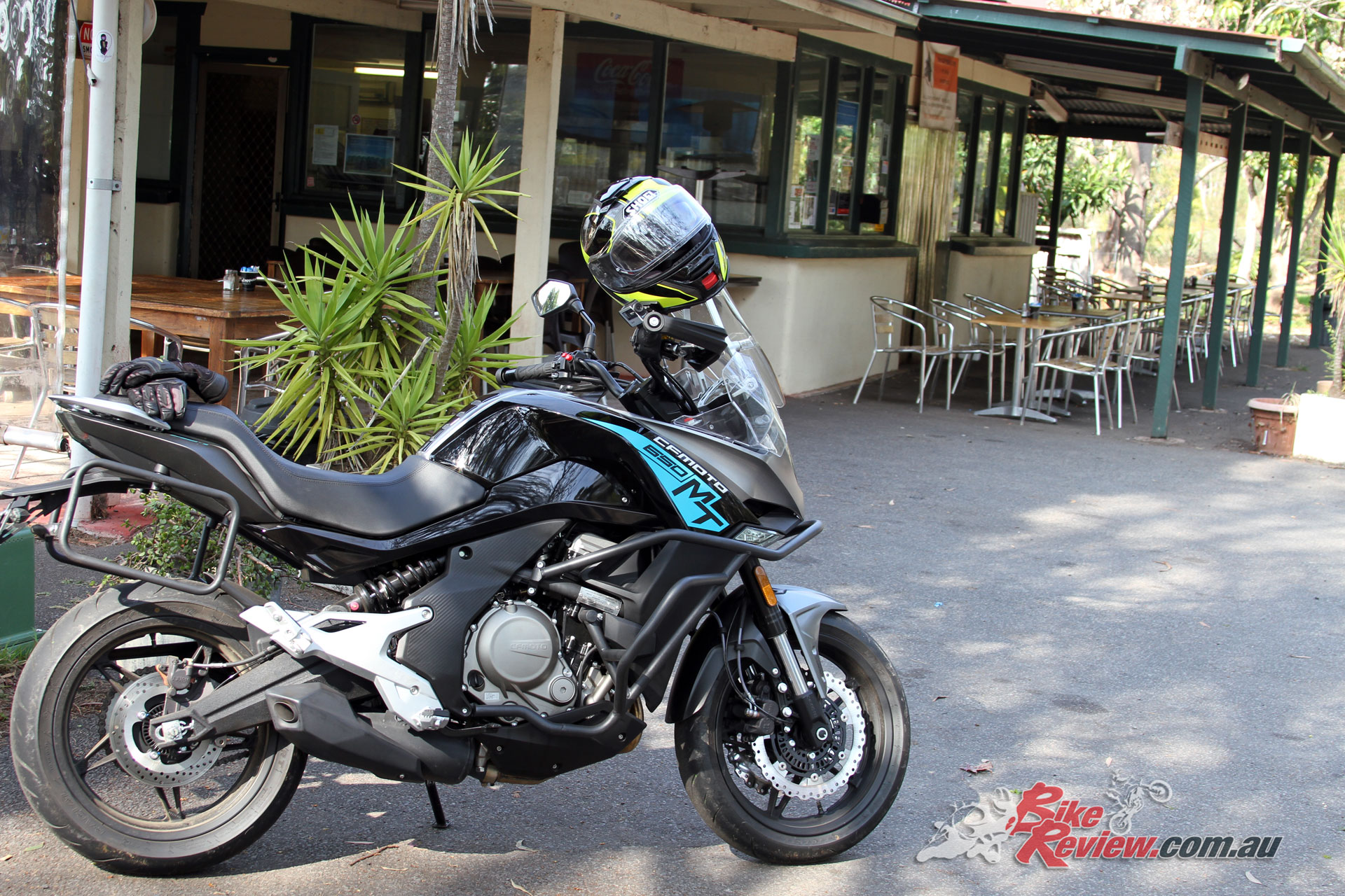 2018 CFMoto 650MT at Road Warriors Cafe