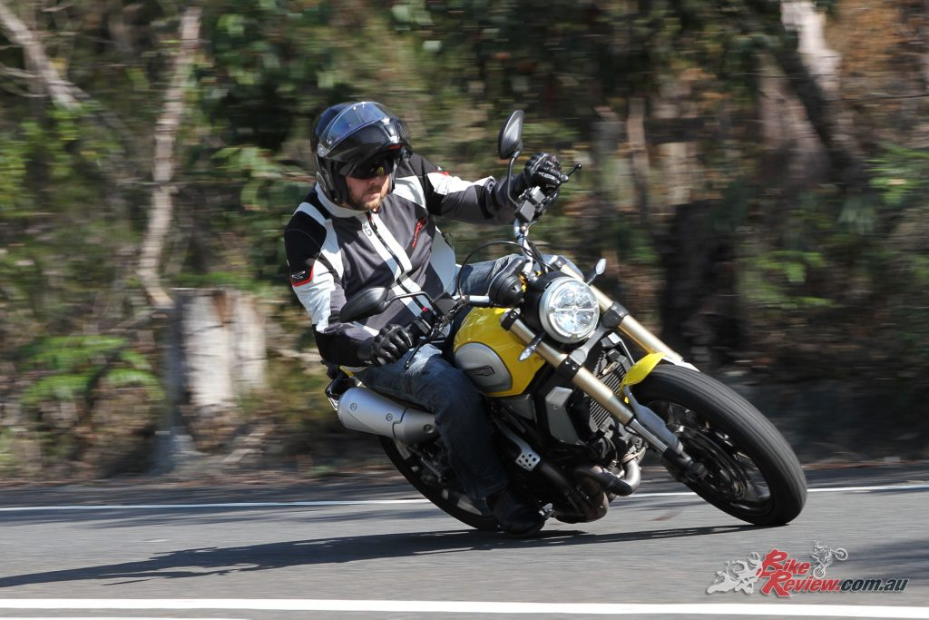 The Scrambler 1100 has quick, accurate steering yet is stable and predictive.