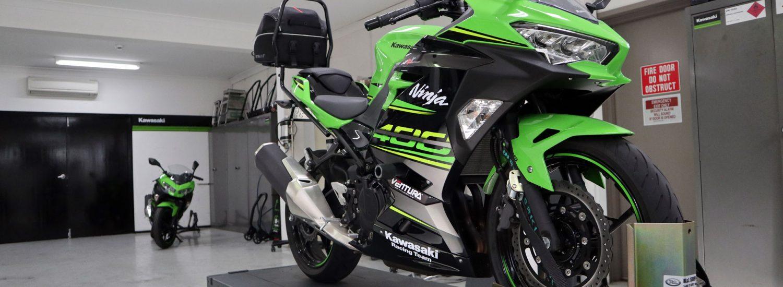 2018 Kawasaki Ninja 400 First Service