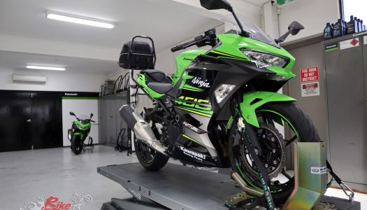 Long Term: Ninja 400 First Service at Kawasaki HQ