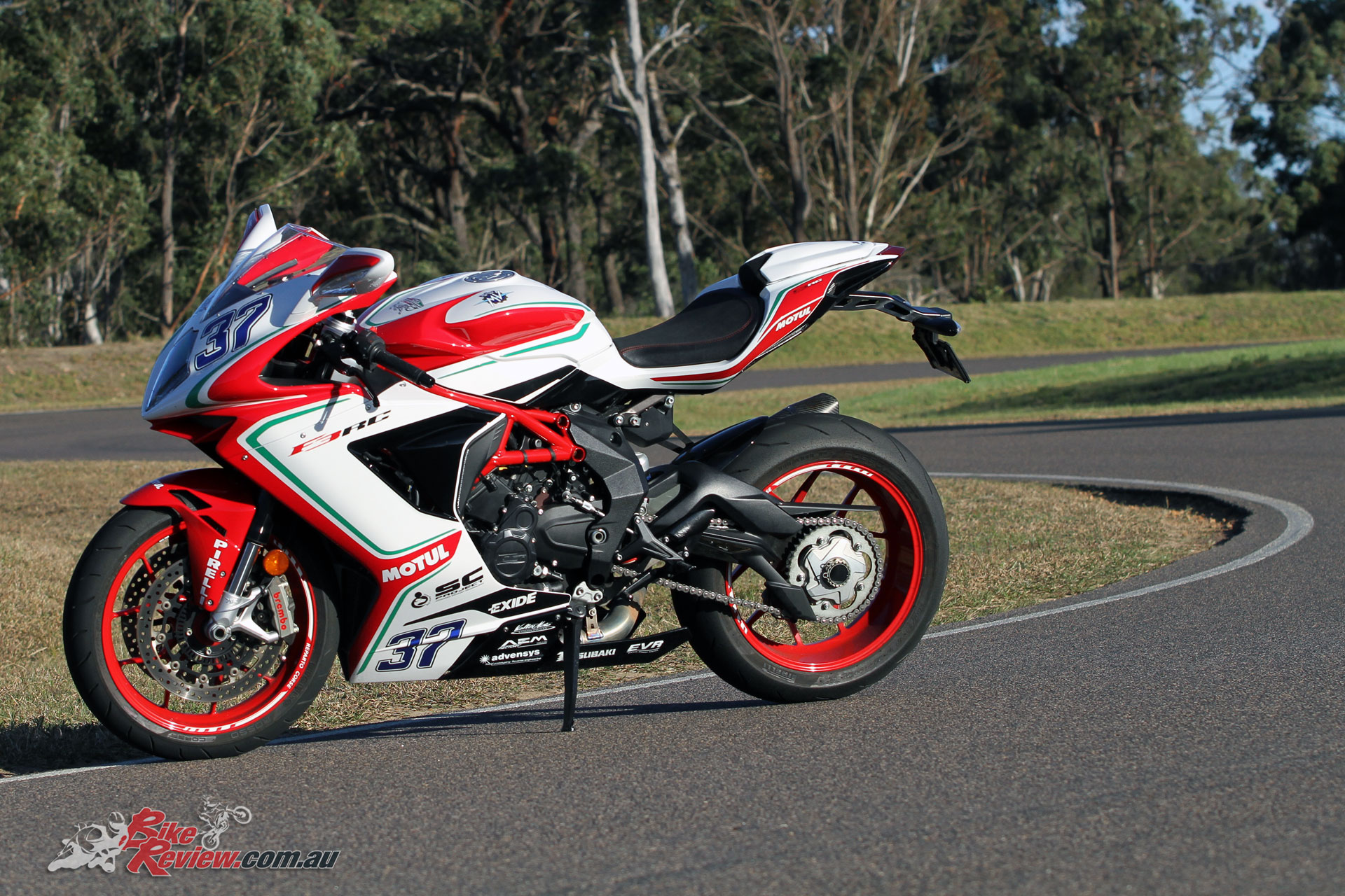 One point everyone could agree on was the 675 RC looking sensational
