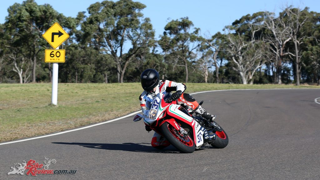 Where you look, the MV Agusta F3 675 RC follows... It is a great steering motorcycle...
