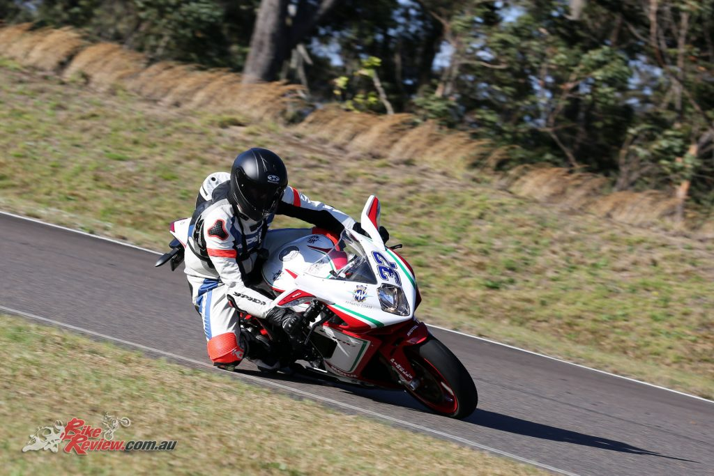 Those with a racing background will appreciate just how good the 675 RC is through the corners.