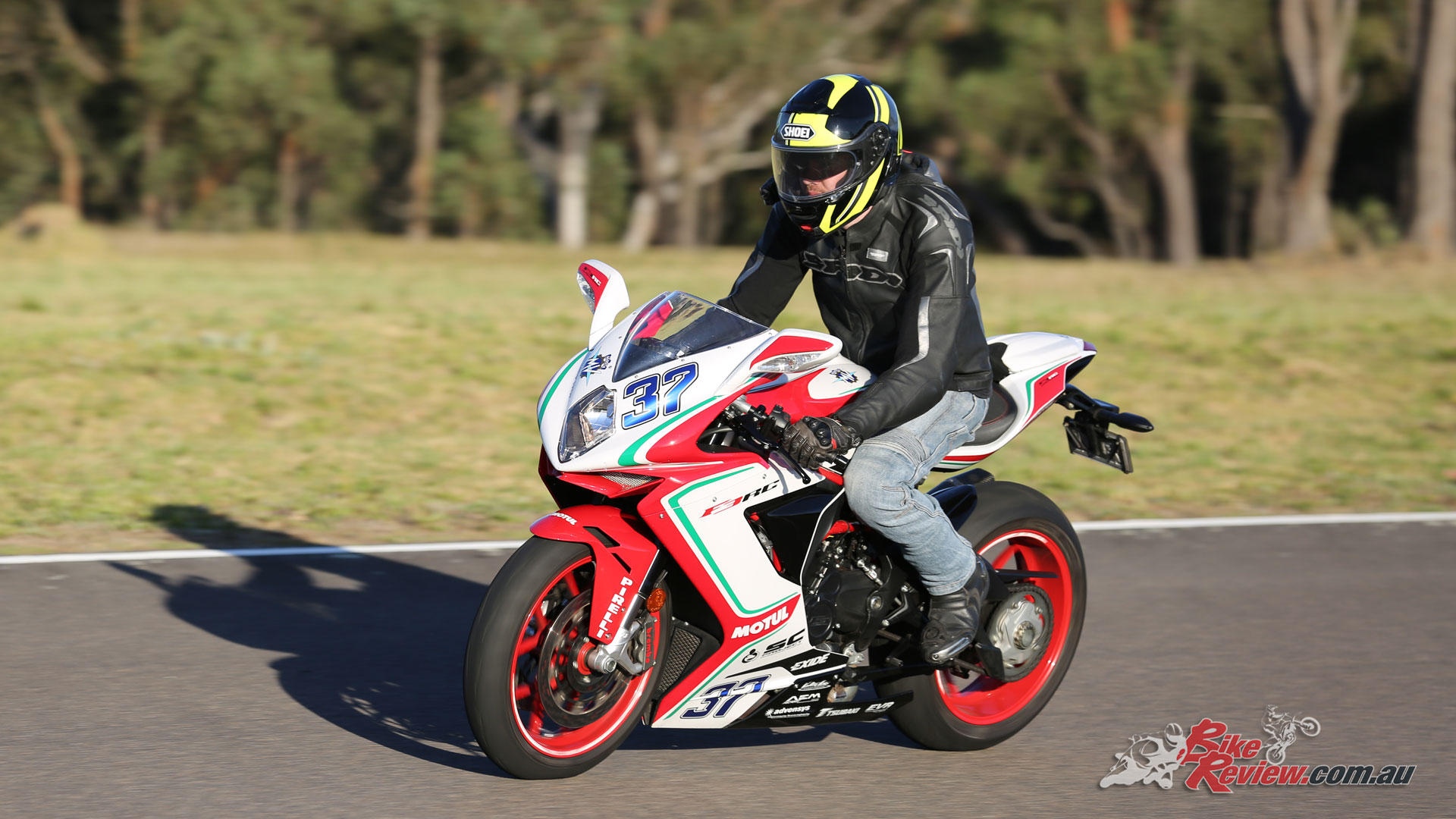 Jumping on the MV Agusta F3 675 RC reveals an amazing piece of machinery...