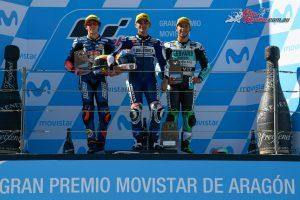Moto3 Podium - Aragon 2018