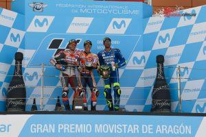 MotoGP Podium - Aragon 2018