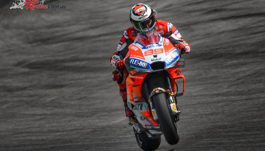 Jack Miller on the front row for Misano MotoGP