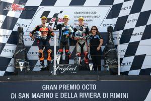Moto2 Podium - MotoGP 2018 Misano