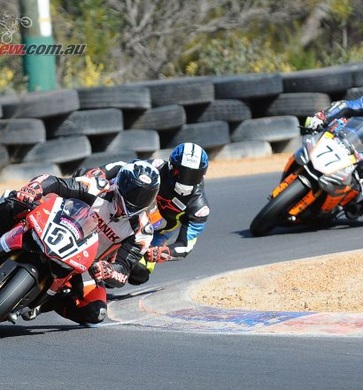 Cameron Stronach leads Ben Stronach and Adam Senior - 2018 WA State Titles Round 3