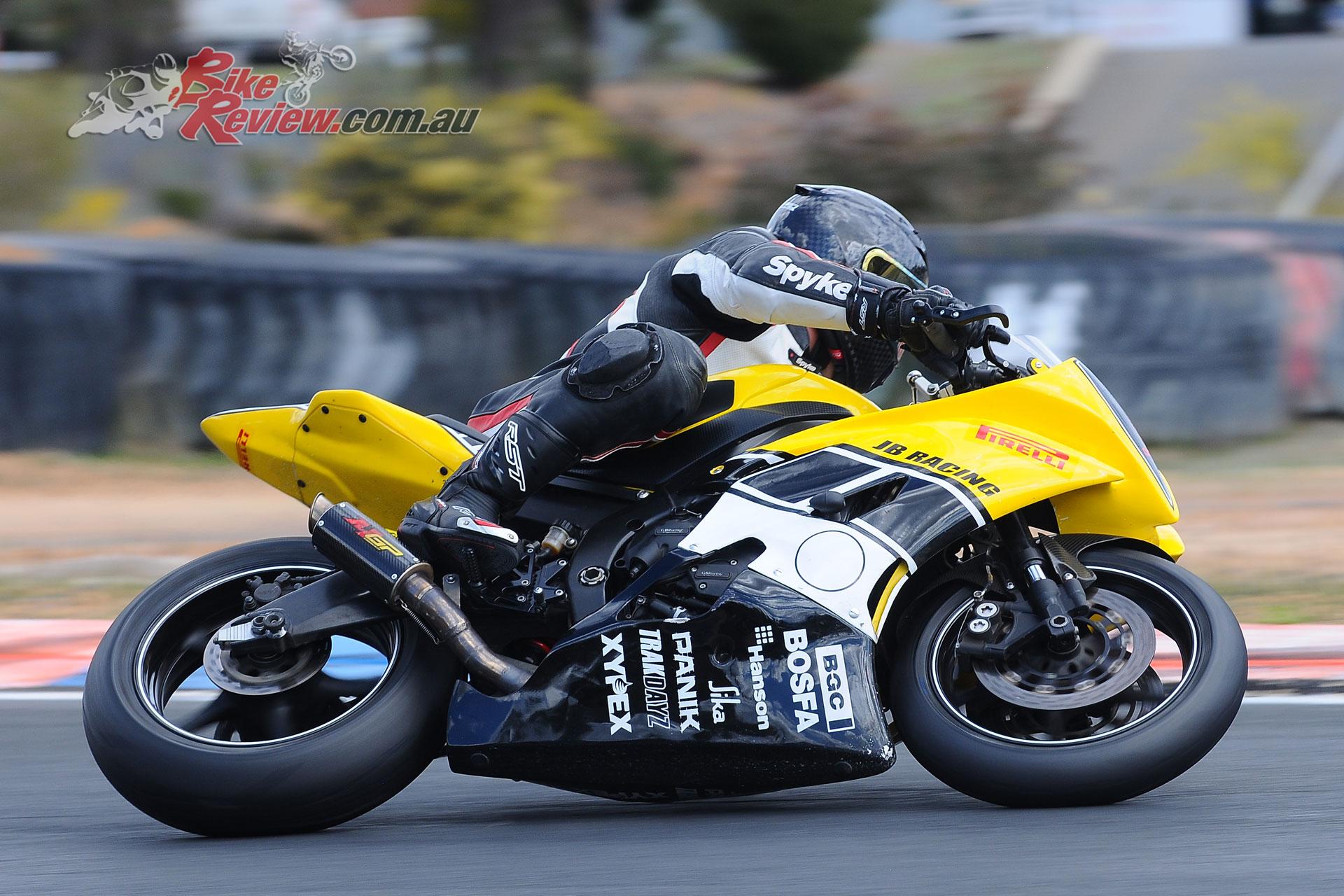 Leigh Boujos (JB Racing Yamaha R6)
