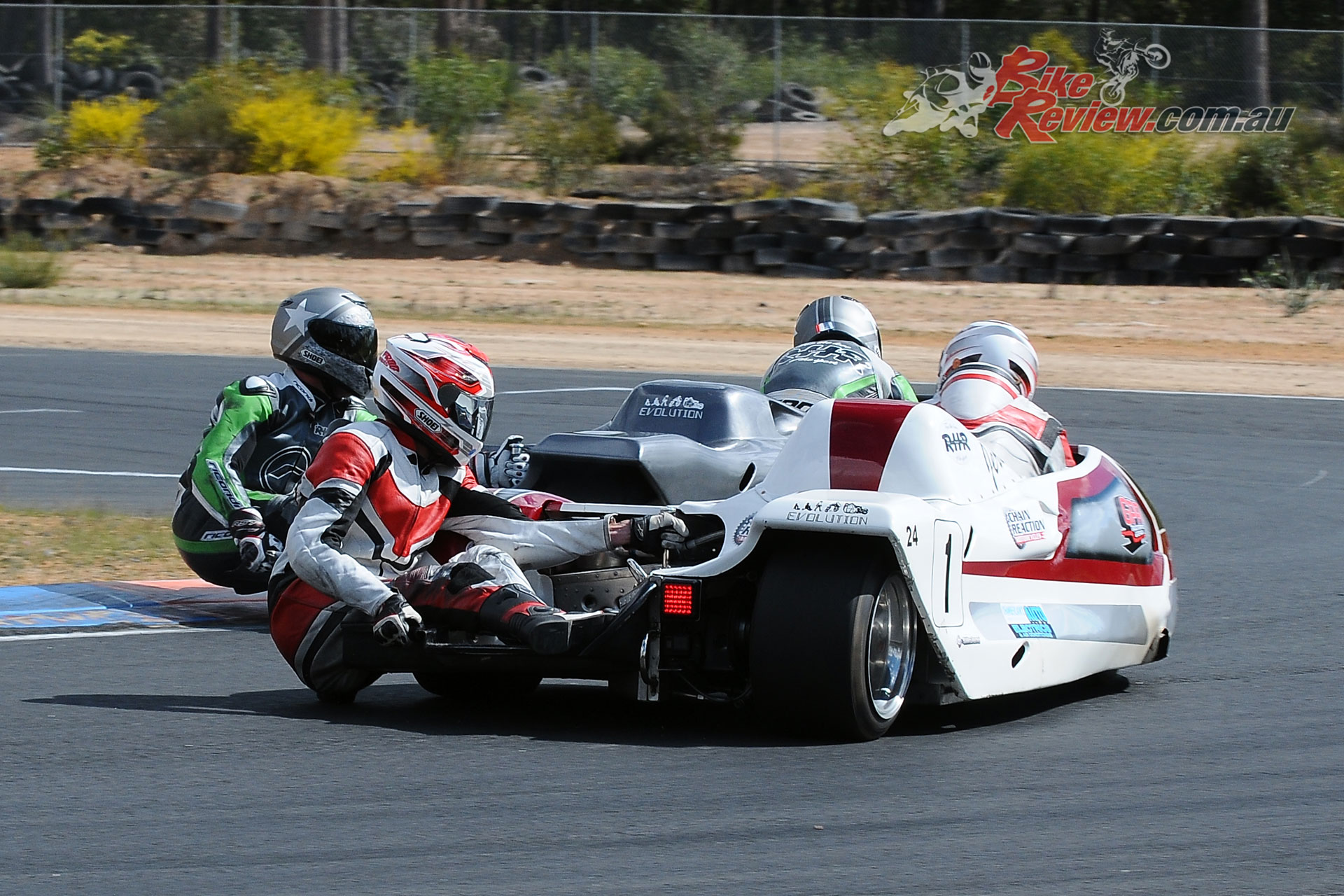 Graeme Evans/Jarrod Scott (RHR Kawasaki ZX-10R)