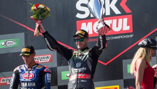 Jonathan Rea extends his WSBK winning streak in Portugal