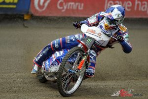 Three-time Speedway World Champion Jason Crump