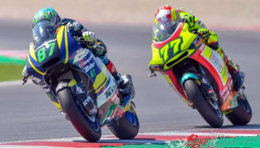 Remy Gardner finishes 12th at Misano