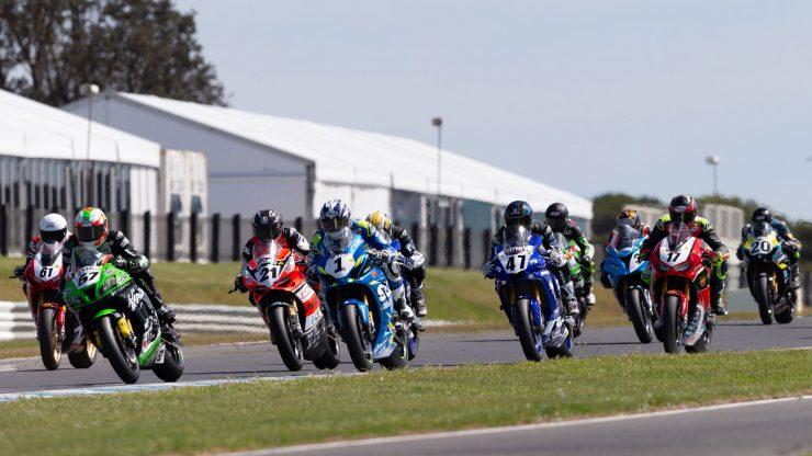 YMI Superbikes - Phillip Island Round 7 ASBK 2018 - Image by TBG