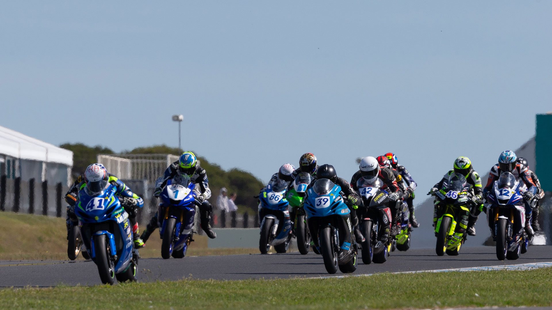 Kawasaki Supersport - Phillip Island Round 7 ASBK 2018 - Image by TBG