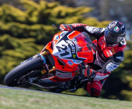 Troy Bayliss - Phillip Island Round 7 ASBK 2018 - Image by TBG