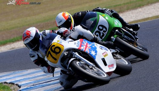 Superbike Masters wind back clock at Morgan Park