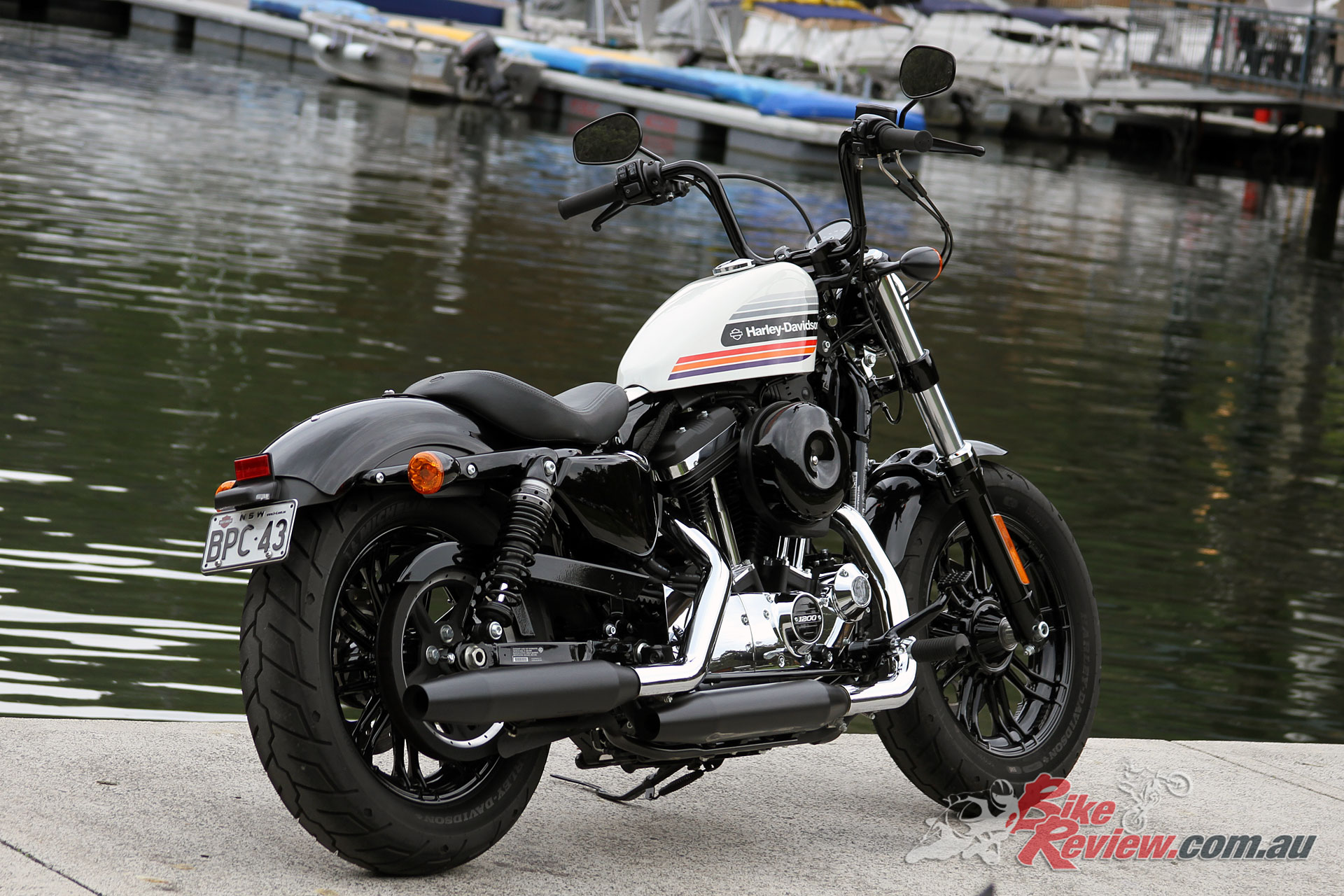 Review 2018 Harley Davidson Fortyeight Special Bike Review
