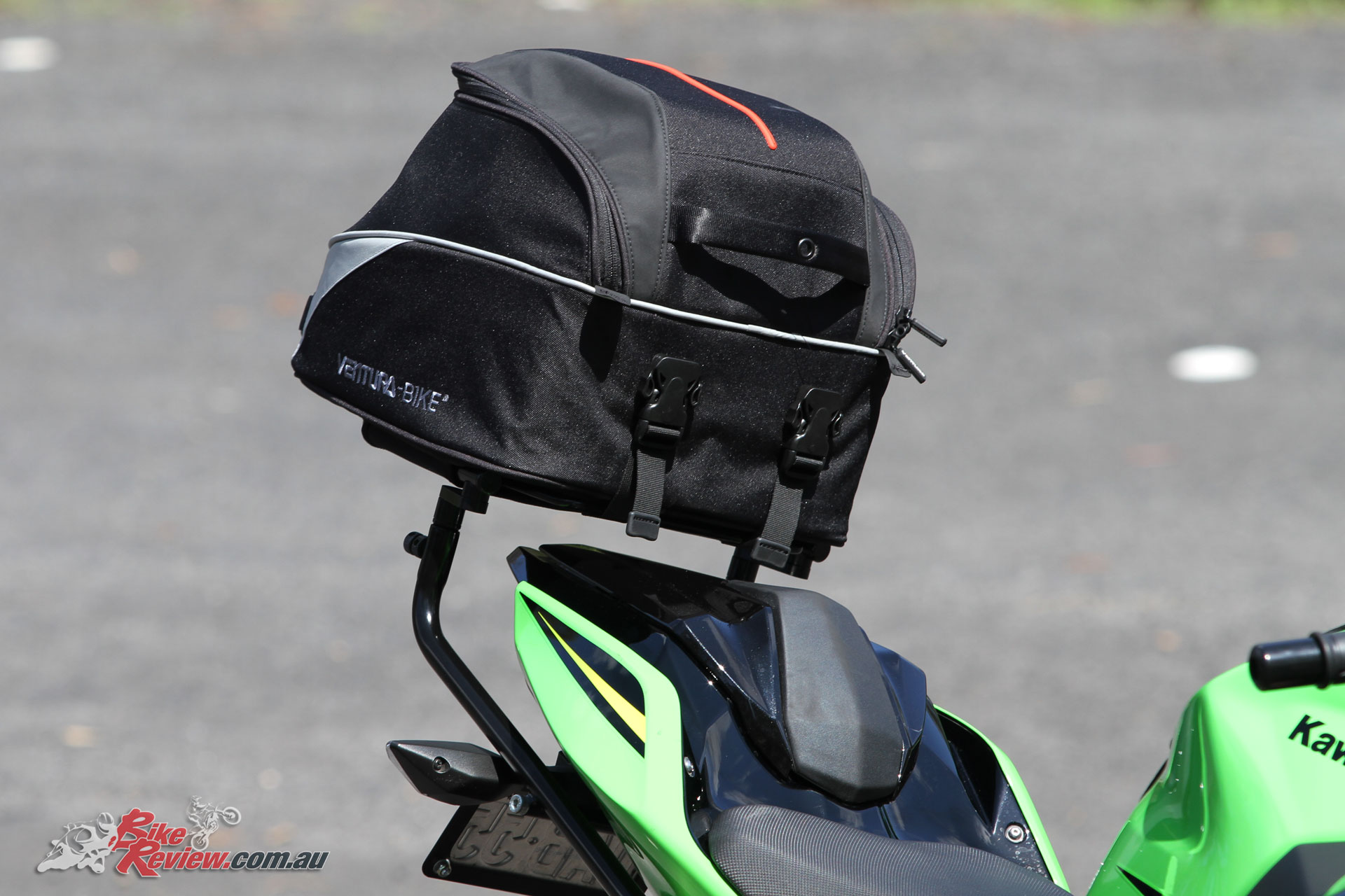 The EVO-22 Bike Pack is typical of Ventura's build quality and attention to detail
