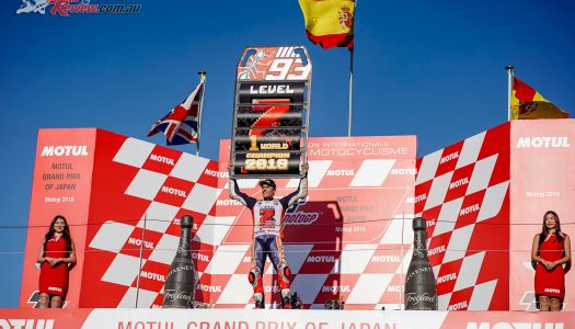 Motegi crowns Marc Marquez 2018 MotoGP Champion