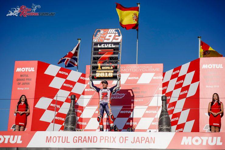 Marc Marquez 2018 MotoGP Champion